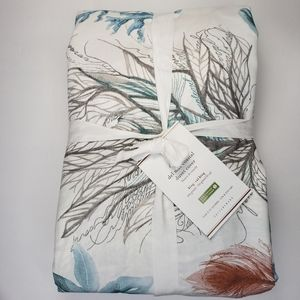 Pottery Barn Del Mar Coastal Duvet Cover King